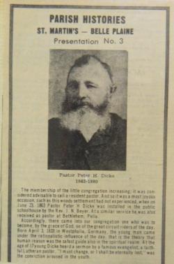 Rev. Peter H. Dicke