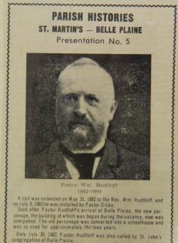 Rev. Wilhelm Hudtloff