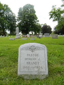 Rev. Herman J. Brandt