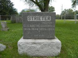 Rev. Johannes Strieter, Elisabeth Strieter